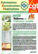 Journal CGT RATP Informations Revendications Mobilisations n°2