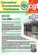 Journal CGT RATP Informations Revendications Mobilisations n°3