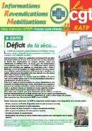 Journal CGT RATP Informations Revendications Mobilisations n°4