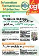 Journal CGT RATP Informations Revendications Mobilisations n°6
