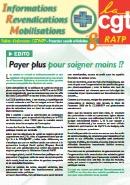 Journal CGT RATP Informations Revendications Mobilisations n°8