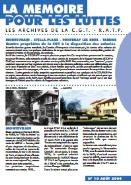 Journal la mémoire pour les luttes n°10 : Propriétés de la CGT RATP – août 2004