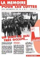 Journal la mémoire pour les luttes n°12 : Un mois de mai très occupé… – mai 2008