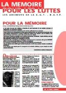 Journal la mémoire pour les luttes n°8 : Pour la mémoire – mai 2002