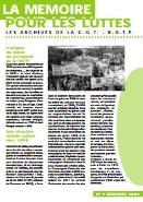 Journal la mémoire pour les luttes n°9 : L'origine du statut du personnel RATP – décembre 2002