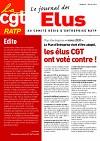 Journal des élus CGT au CRE n°5