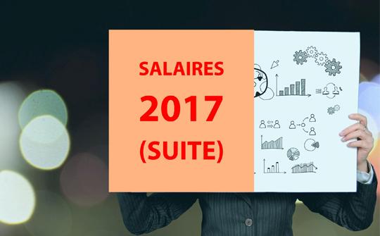 Salaires 2017 (suite)