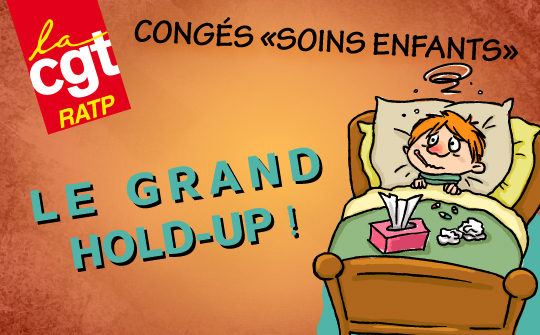 Congés « soins enfants » : le grand hold-up !